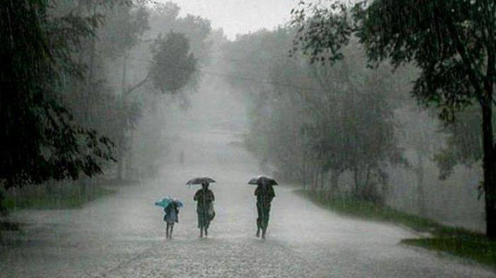 Peringatan Dini BMKG Kamis, 23 September 2021: Terjadi Hujan Lebat Disertai Kilat dan Angin Kencang